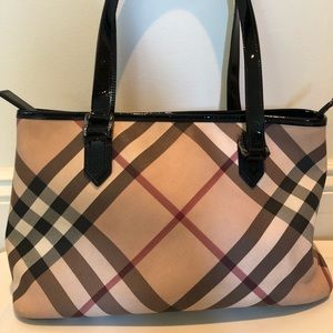 Burberry Supernova Check Regent Tote Bag